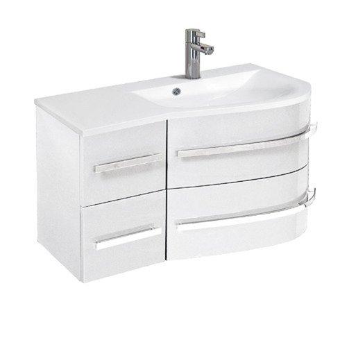Szafka łazienkowa Z Umywalką Oristo Opal Or30 Sd 90 P 2 Prawa Na