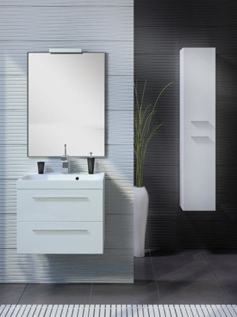 Słupek Elita Kwadro Plus 30 2D White 164590